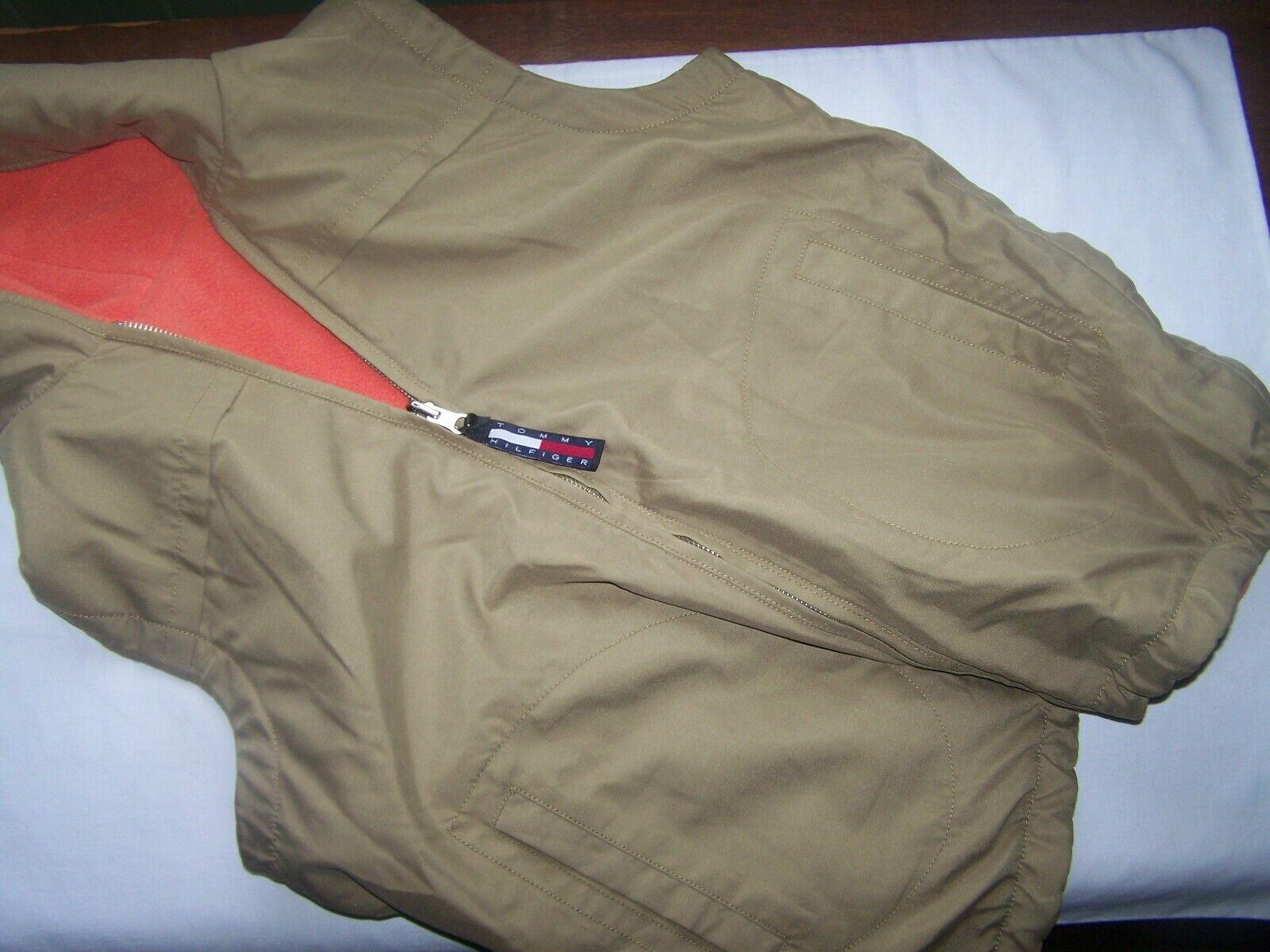 Tommy Hilfiger Vest Reversible Large Orange - image 6