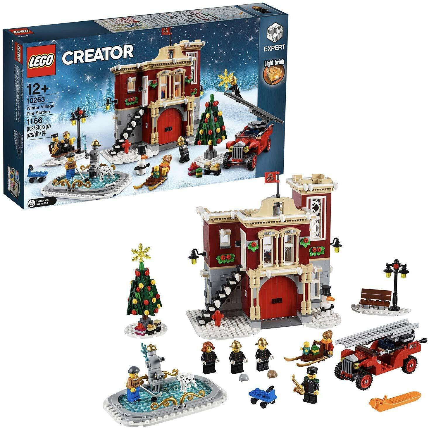 LEGO 10263 CREATOR WINTERLICHE FEUERWACHE