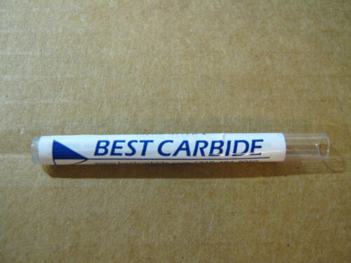 """BEST CARBIDE 4 FLUTE UNIVERSAL APPLICATION 13//64/"""" DOUBLE END STUB END MILL/""""NEW/"""""""