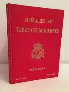 Floralies 1987 Lavagna Moderno Versailles Me TG. Catalogue Vendita
