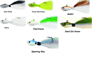 SPRO-Prime-Bucktail-Jig-Choice-of-Colors-and-Sizes