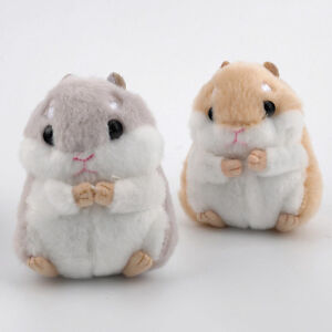 cute soft small hamster mouse plush fur fluffy animals toy doll