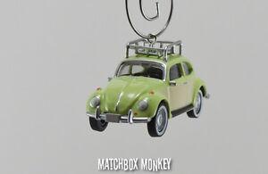 Image Is Loading Clic Deluxe Volkswagen Beetle Custom Christmas Ornament Vw