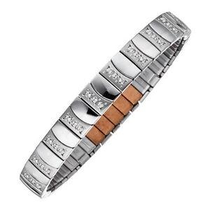 MAGNETIX-Armband-Flexi-4456-034-Edelstahl-Zirkonia-034-Magnetschmuck