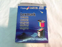Lexmark Color Ink Refill Kit 17g0060 16g0065 15mo120 15mo125 15m2619 Inktec 559