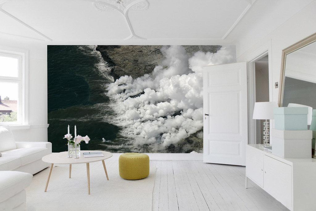 3D Weißer Rauch Meer 83 Tapete Wandgemälde Tapete Tapeten Bild Familie DE Summer   Heißer Verkauf    Feinen Qualität    Roman