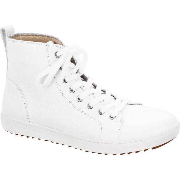 Birkenstock Top Bartlett Uomo Natura Scarpe in Pelle High Top Birkenstock Sneaker 1004641 larghezza normale d3733d