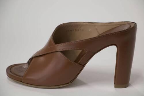Maison Martin Margiela Womens Slip-on Mule Brown Leather