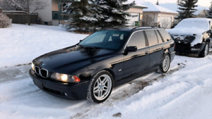 2003 BMW 525 Wagon 5 speed manual