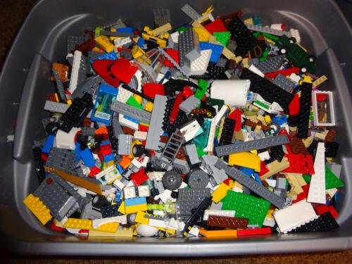 LEGO Lot 10 pounds ten LB Bulk Lot Cleaned Sanitized Bricks assorted pieces