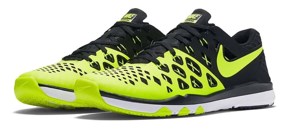 NIKE Train Speed 4 Men's 11.5 Athletic Sneakers Volt/Black Sz 11.5 Men's 30eaaf