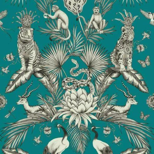 Belgravia MENAGERIE Plantes Tropicales Exotiques Imprimé Animal Tigre de Papier Peint 2004