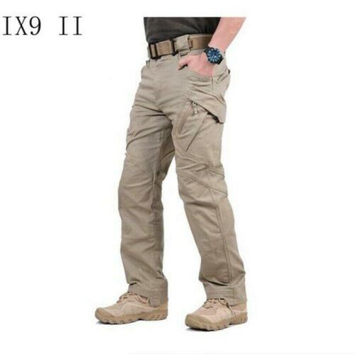 IX9 Hommes Militaire Tactique Cargo Pantalon Swat ARMY TRAINING Randonnée Globale Pantalon