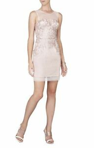 NEW-BCBG-MAX-AZRIA-ABIGAIL-PAISLEY-SEQUINED-COCKTAIL-DRESS-EEF6Y964-M483W-SZ-2