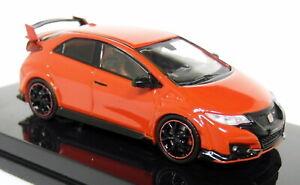 Tarmac-1-64-Scale-Honda-Civic-Type-R-FK2-2016-Milano-Solid-Red-Resin-Model-Car