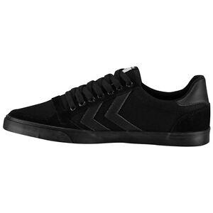 Hummel-slimmer-stadil-tonalite-Low-chaussures-de-sport-loisirs-sneaker-Black-64-466-2001