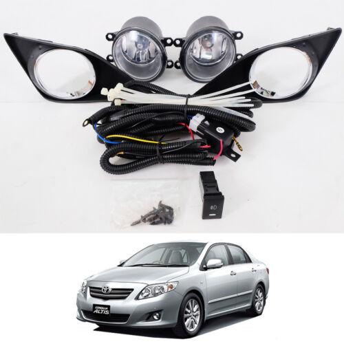 For 08 09 10 11 Toyota Corolla Altis Sedan Spot Light Lamp Fog Light Lamp Pair
