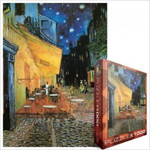 EG60002143 Eurographics Puzzle 1000 Piece Cafe at Night / Vincent Van Gogh
