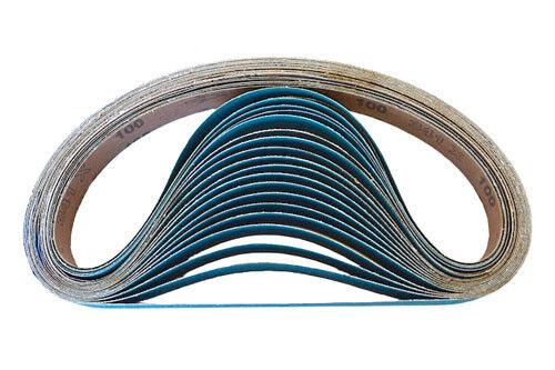 12 Pack, 40 Grit 1 X 30 Inch Sanding Belts Zirconia Cloth Sander Belts
