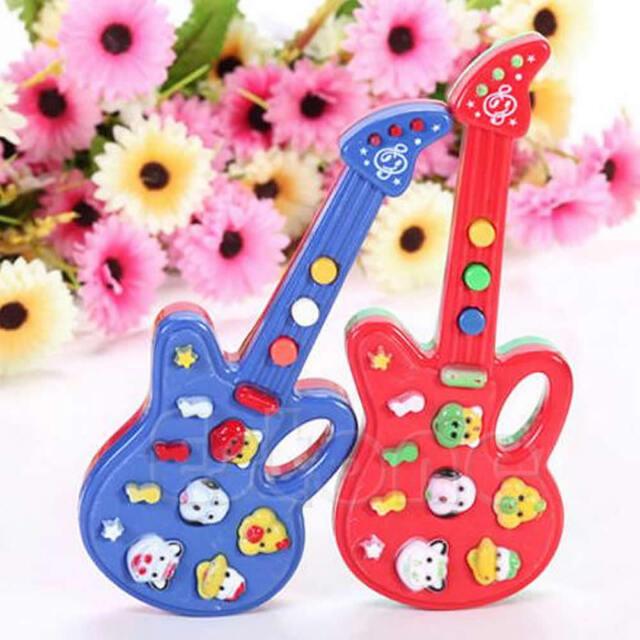 Baby Kids Mini Nursery Electronic Guitar Children Educational Rhyme Music Toys