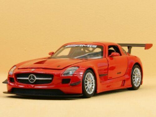 red MotorMax 1:24 MB Mercedes Benz SLS AMG GT3