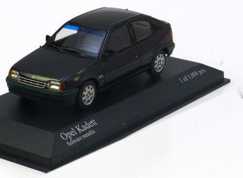 1:43 Minichamps Opel Kadett E 1989 blackmetallic