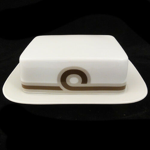 """BALTIC Duo Shape Covered Butter Dish 7.2/"""" by Rosenthal NEW NEVER USED Germany"""