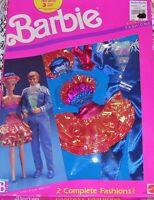Mattel Barbie & Ken Doll 1989 Fantasy Fashion Set Outfit Clothes 8242 Nip