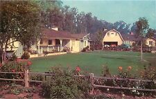 Unposted Chrome Postcard Suburban Living in Orange County CA Ranch Style Home