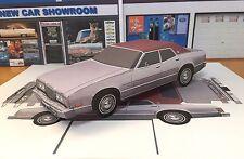 Papercraft 1976 Mercury Montego MX sedan PaperCar E Z U-build Toy Car
