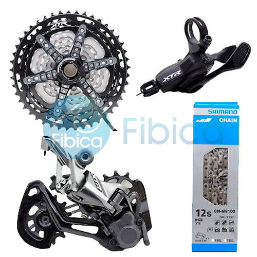 New 2019 Shimano XTR M9100 Rear Derailleur Shifter Cassette Chain Groupset 12s