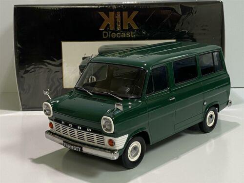 Ford Transit Van 1965 vert foncé échelle 1:18 KK Scale 180462