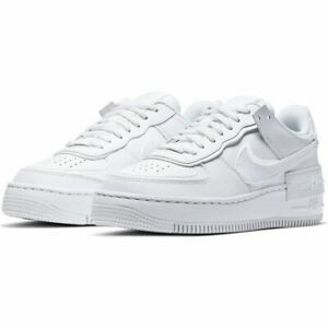 Nike-W-AF1-Shadow-White-Multi-Size-US-Womens-Athletic-Running-Shoes-Sneakers