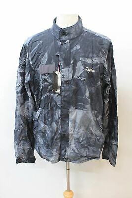RAPHA Men/'s Outskirts Tie Dye Black Silk Blend Cycling Wind Jacket M BNWT
