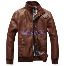11c11c265c32 Encontrar Faux Leather Jacket Boys Trendy Stand Collar Coat 3t-14 ...