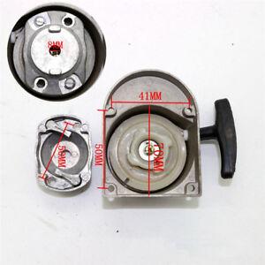 1x-Alloy-Pull-Start-Manual-Recoil-Starter-49-80cc-Motorized-Bike-Mower-Go-Kart