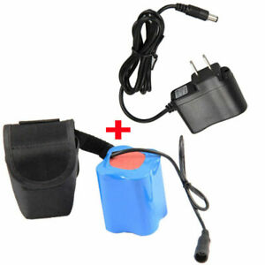 Waterproof 8.4V Rechargeable Battery Pack Backup For X3 X2 LED Bicycle Light