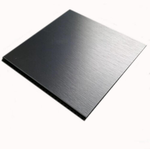 1pcs Nice 304 Stainless Steel Fine Polished Plate Sheet 0.35*100*100mm