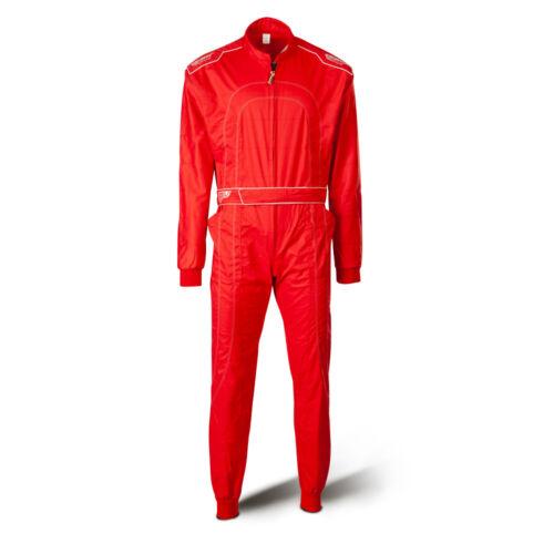 Combinaison Kart dans le style de la Formule 1  Speed Racewear Combinaison Rouge