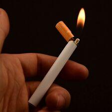 Cigarette Lighter Cigarette shaped Butane NO GAS  Flame Portable Cigar Lightr