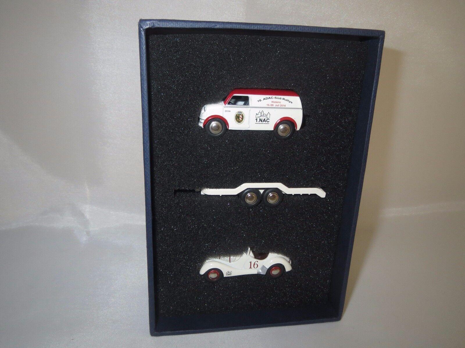 Bouèbe 06954 BUBMOBIL-Set (16. ADAC-Sud-Rallye) 1 87 Neuf dans sa boîte
