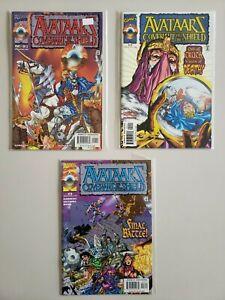 Avataarz-Covenant-Of-The-Shield-1-2-3-Marvel-Set-Series-Run-Lot-1-3-VF-NM