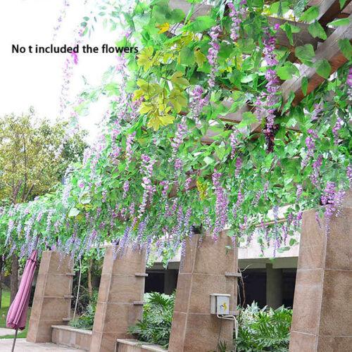 9.2Ft Artificial Hanging Ivy Leaf Grape Plants Garland Wedding Home Garden Decor