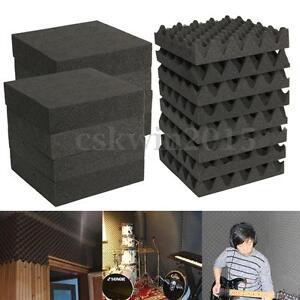 1-6-24-30X-Acoustic-Foam-Panel-Tiles-Studio-KTV-Sound-Noise-Proofing-Insulation