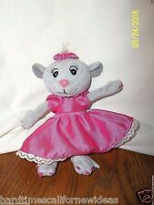 Tommy Nelson Girl Mouse Plush Raising Faithful Kids 6""