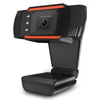 USB 2.0 12.0MP HD Webcam Camera w/ Mic LED for Desktop PC Laptop Skype Computer^