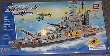 Navy Cruiser BricTek Building Block Construction Toy Brick Ship Boat Bric Tek