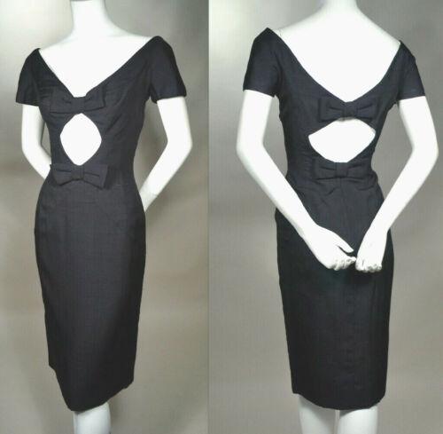 LUIS ESTEVEZ 1950s Vintage Party Dress_Midriff CUT