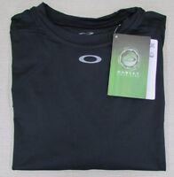 Oakley Men's Field Gear Control Athletic Performance T-shirt Black Small