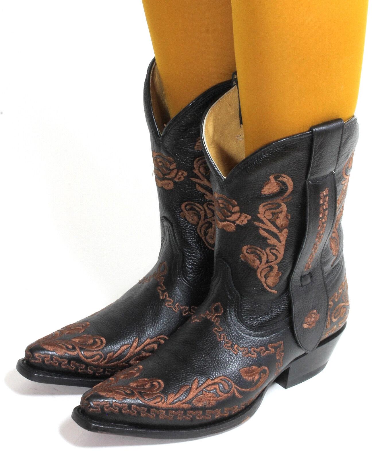 25 botas de vaquero Western Western Western botas texas botas bordado solchaga style Rudel 37  tiendas minoristas